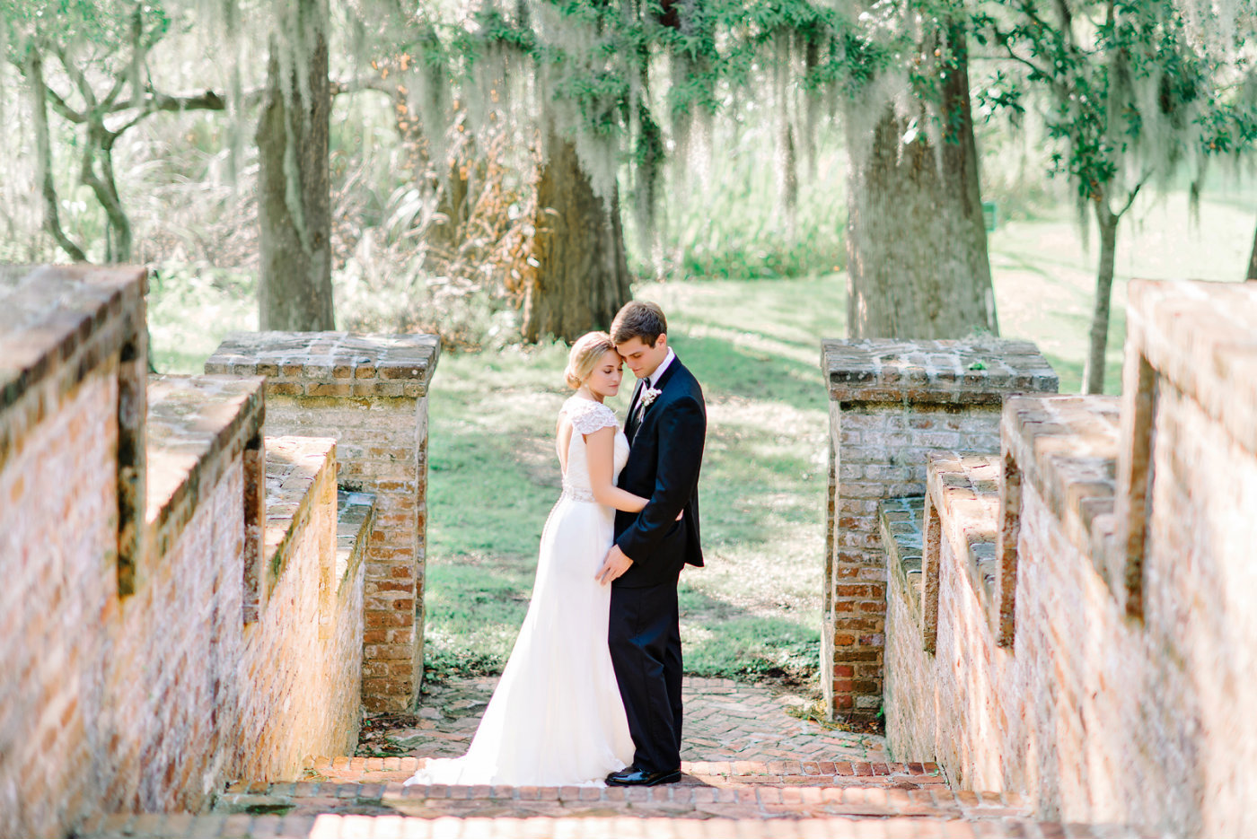Wedding PHotography at Brookgreen Gardens